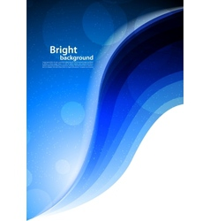 Bright blue background vector