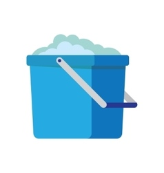 Bucket icon cartoon vector
