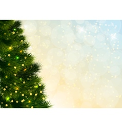 Christmas tree template vector