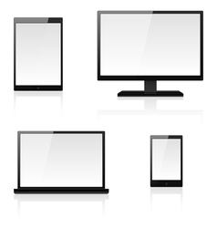 Digital devices vector image