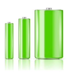 Green battery range vector