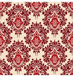 Luxury damask seamless pattern vector