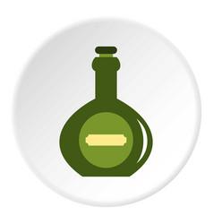 Pass icon circle vector