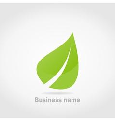 Green leaf2 vector image