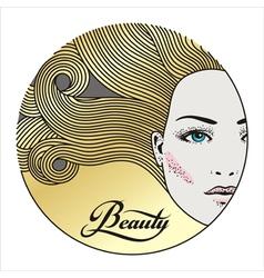 Beauty face 3 vector