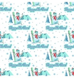Christmas theme pattern vector