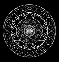 mandalas for coloring book decorative black and vector image