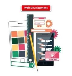 Web Development Concept vector image
