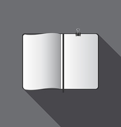 White blank template vector
