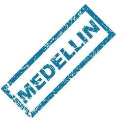 Medellin rubber stamp vector