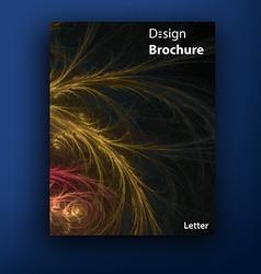 Brochure - booklet cover design templates vector