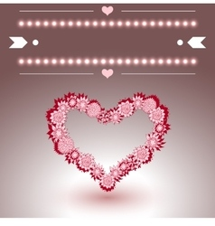 Empty Greeting Card with text-space vector image vector image