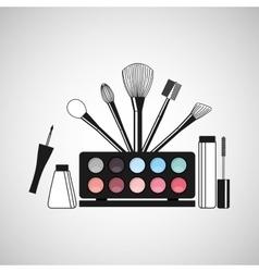 Female makeup design vector