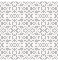 Lace pattern with white shapes in art deco style vector