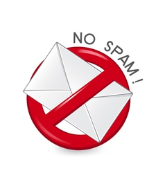 No spam vector