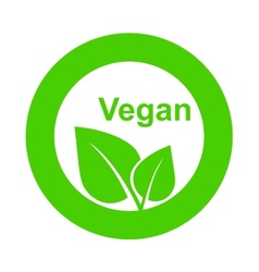 Symbol of vegetarian food vector