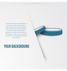 Abstact ring template corporate icon vector