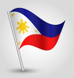 Flag philippines vector