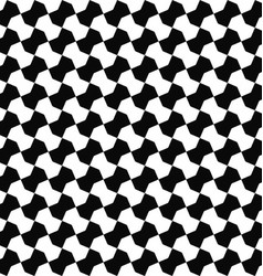 Seamless black white geometric pattern background vector