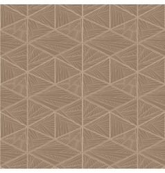 Intricate seamless geometric pattern vector
