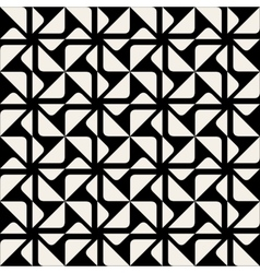 Seamless triangle square geometric pattern vector