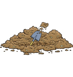 Digging pits vector