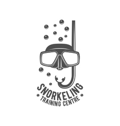 Diving vintage labels logos and design elements vector