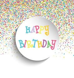 happy birthday background 2909 vector image