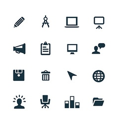 Art design icons set vector