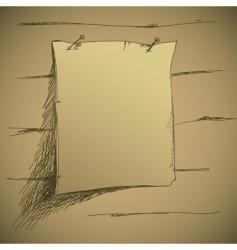 drawing tag vector image