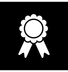The award icon achievement symbol flat vector