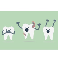 Decayed tooth vector