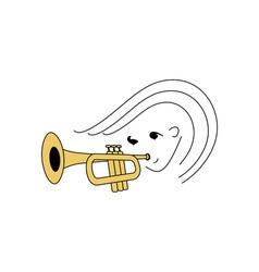 Jazz-Musician-380x400 vector image vector image