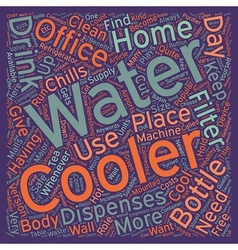 The benefits of water coolers at home or in the vector