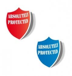 shield icon vector image