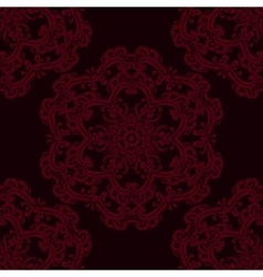 Abstract seamless pattern with lace vector