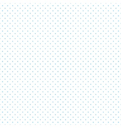 Blue Dots White Background vector image
