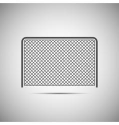 Ice hockey icon vector image vector image