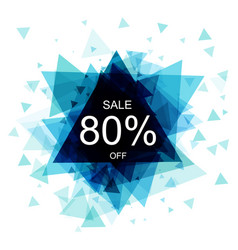Isolated colorful discount sticker on white vector