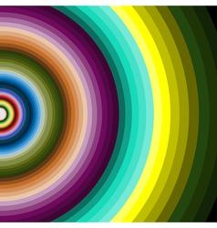 multicolour circles vector image vector image