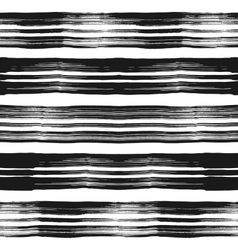 Seamless background grunge monochrome stripes vector image