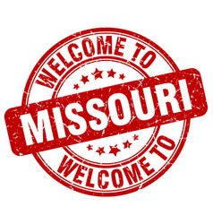 Welcome to missouri vector