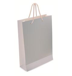 blank shopping bag vector image