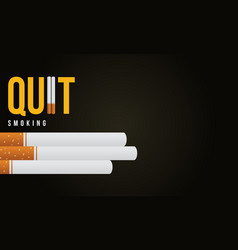 Banner no tobacco day style collection vector