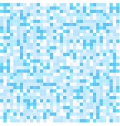 blue mosaic backgrund - seamless vector image vector image