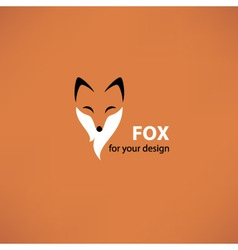 Fox head vector