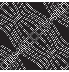 Wavy lines pattern vector image vector image