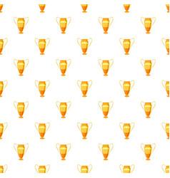 Winner cup pattern vector