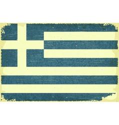 Greek flag vector