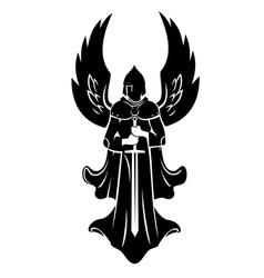 Angel warrior vector